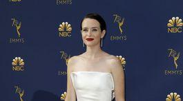Herečka Claire Foy v kreácii Calvin Klein by Appointment.