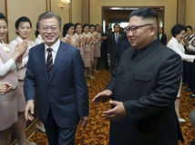 južná kórea, severná kórea, summit