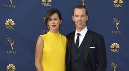 Sophie Hunter a jej manžel Benedict Cumberbatch.