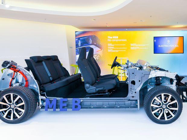VW - elektrická platforma MEB