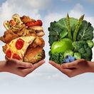 cholesterol. zdravá výživa, nezdravé jedlo, fastfood