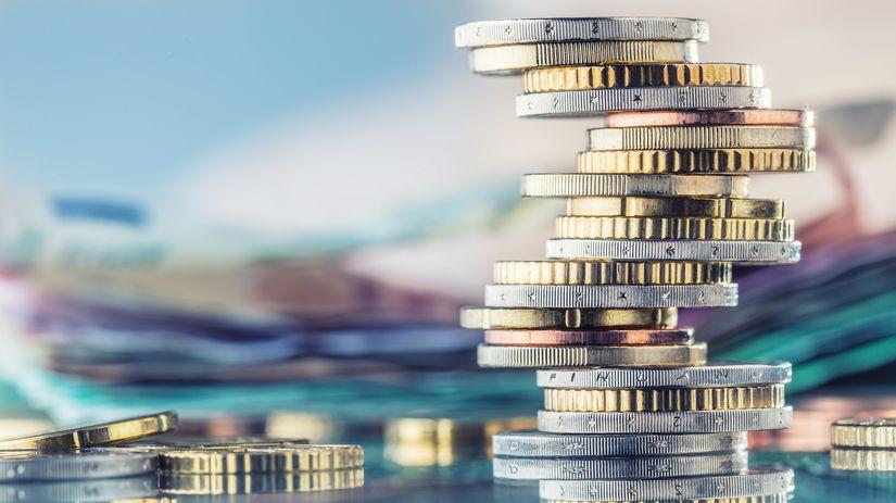 euro, úspory, mince, peniaze