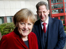Merkelová Massen Nemecko