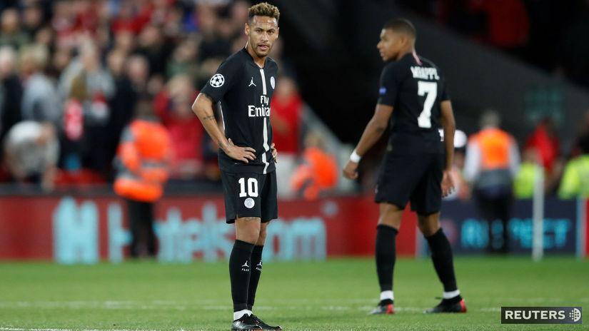 Neymar, Kylian Mbappé