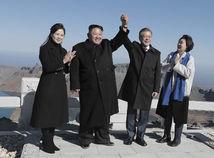 Mun Če-in, Kim Čong-un