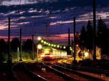 Nemecko, vlak, koľajnice, doprava