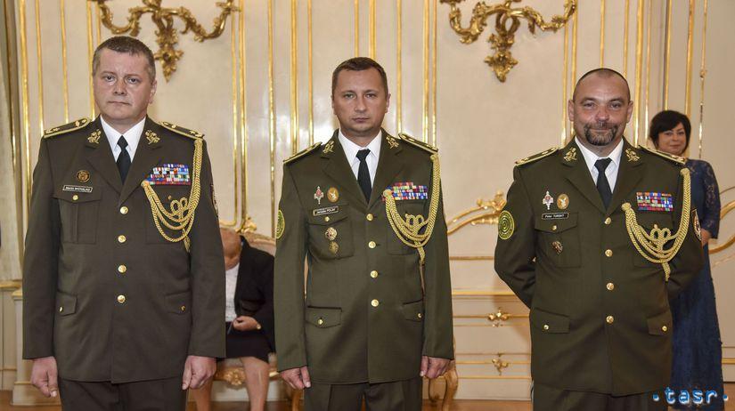prezident Kiska generáli OS menovanie