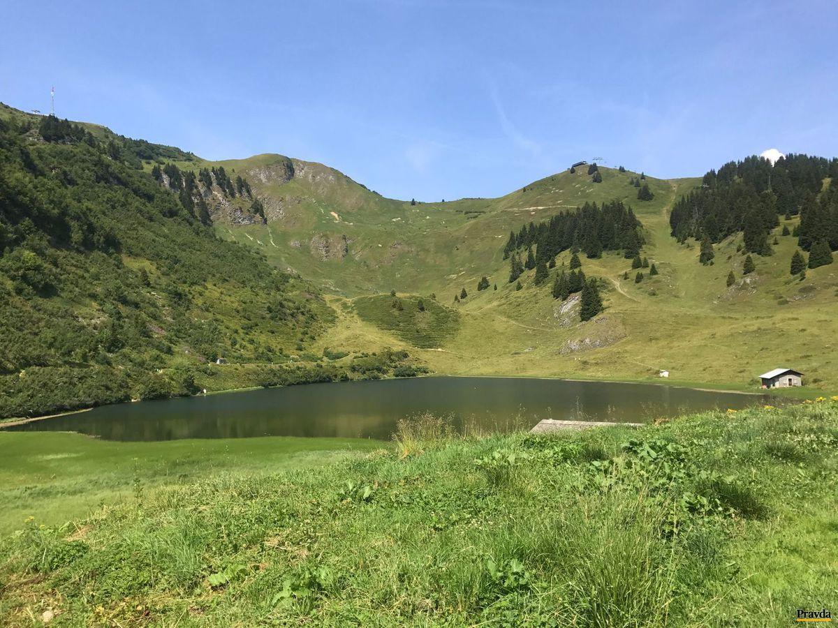 Švajčiarsko, jazero, Alpy