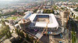 d552b579f4 Privíta fanúšikov už tento rok  Pozrite si Národný štadión z vtáčej  perspektívy