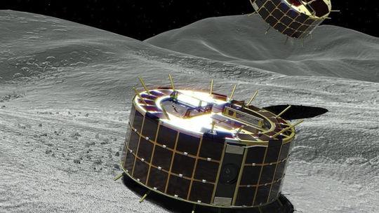 Japonsko JAXA vesmír sonda Hajabusa Ryugu Minerva