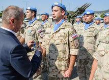 OSSR: Privítanie vojakov z misie UNFICYP na Cypre