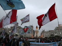 peru, vlajka