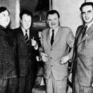 Rudolf Slánský, Klement Gottwald, Georgij Malenkov