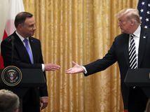 Trump, duda, stretnutie