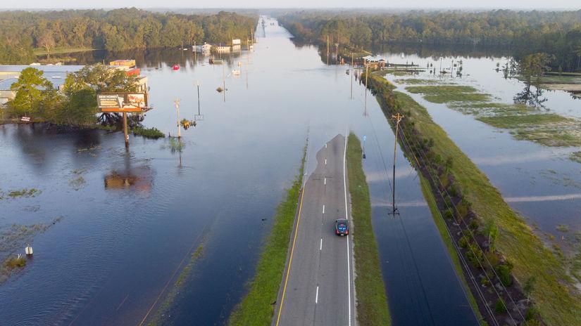 florence, záplavy