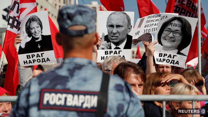 moskva, protest