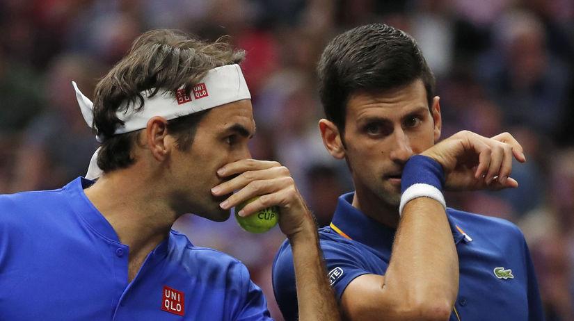 Roger Federer, Novak Djokovič