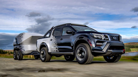 Nissan Navara Dark Sky Concept: Pick-up šitý na mieru astronómom