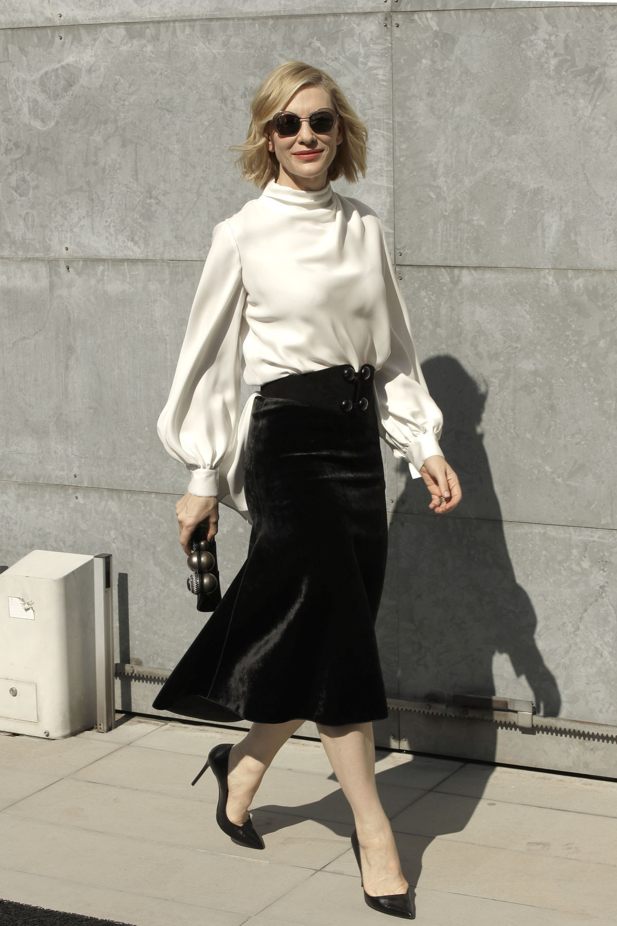 Herečka Cate Blanchett na prehliadke Giorgio...