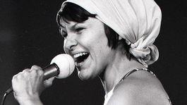Jana Kocianová na archívnej snímke z roku 1976.