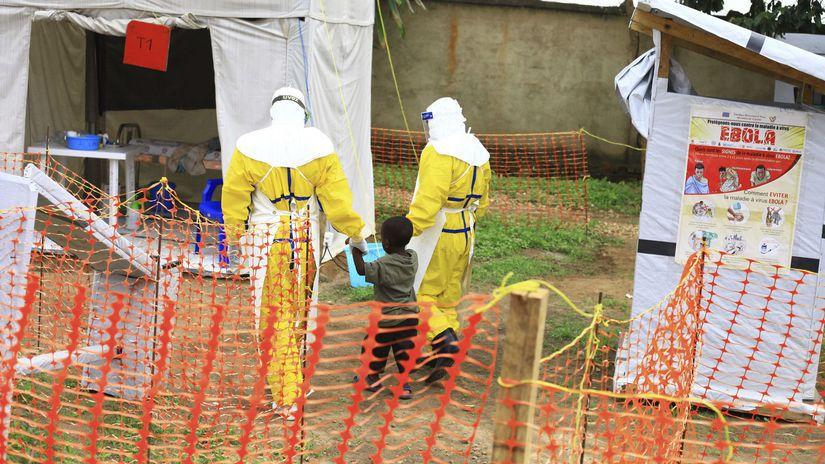 KDR ebola vírus izolácia kongo