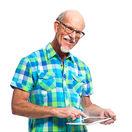 muž, dôchodca, dôchodok