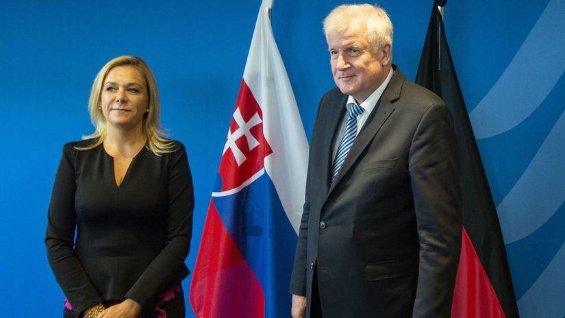 Nemecko SR Saková návšteva Seehofer
