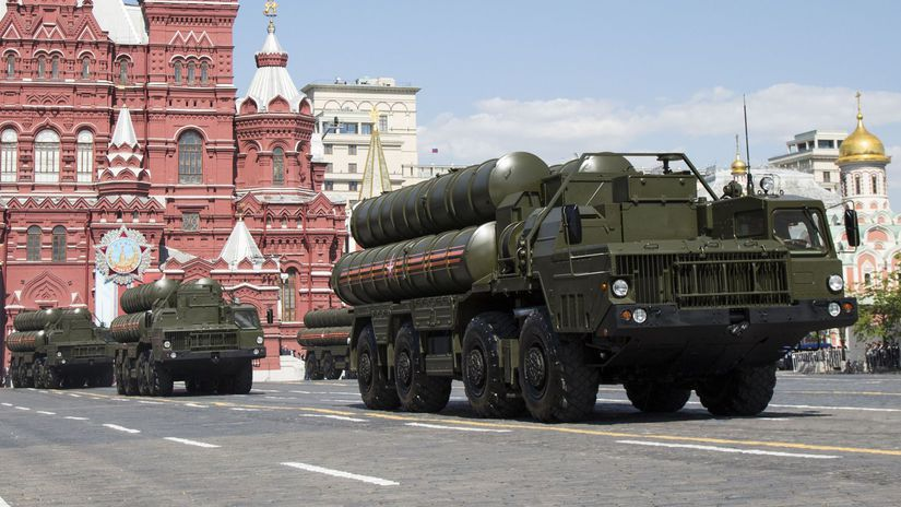 Sýria Rusko S-300 obrana protivzdušná dodanie