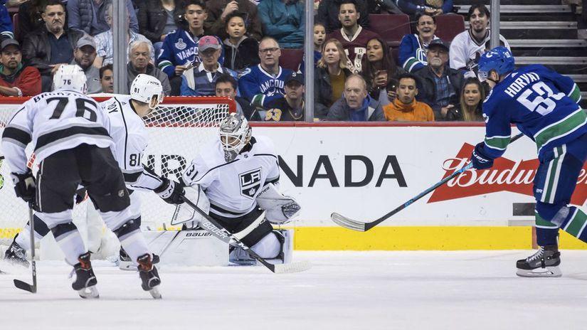 Kanada hokej NHL príprava Kings Budaj