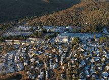 lesbos grécko moria migranti tábor