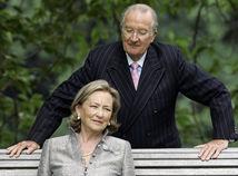 Belgicko kráľovská rodina Paola Albert II.