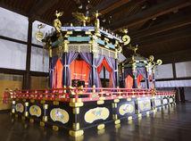 Japonsko Tokio cisár trón naruhito akihito
