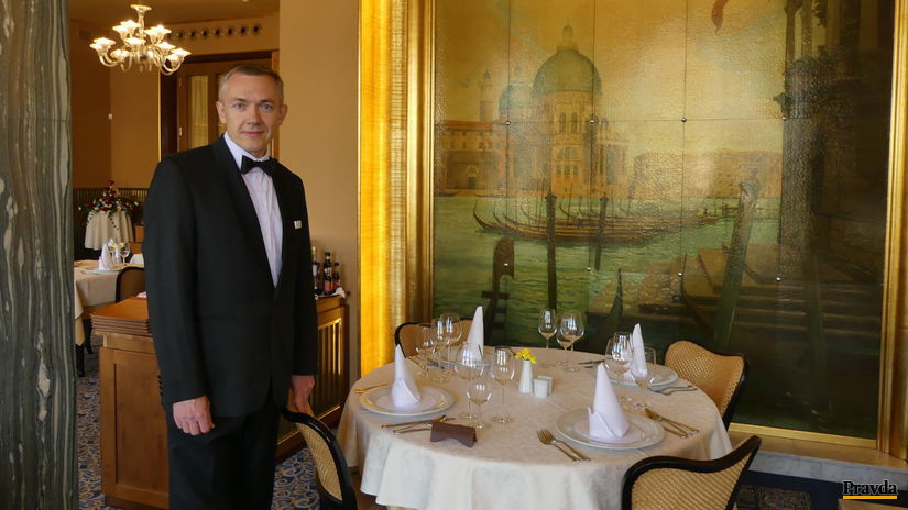 Martin Helia vo Francuzskej restauracii