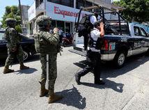 mexiko, polícia, armáda, odzbrojenie, námornictvo, vojaci