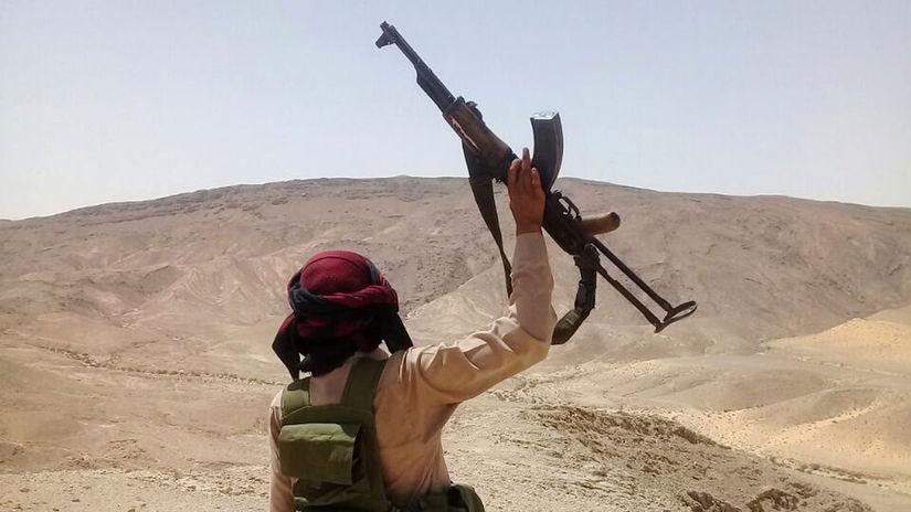 egypt, púšť, zbraň, ozbrojenec, militant,...