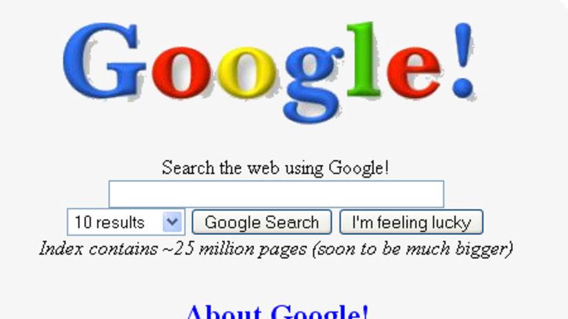 Google, vyhľadávač