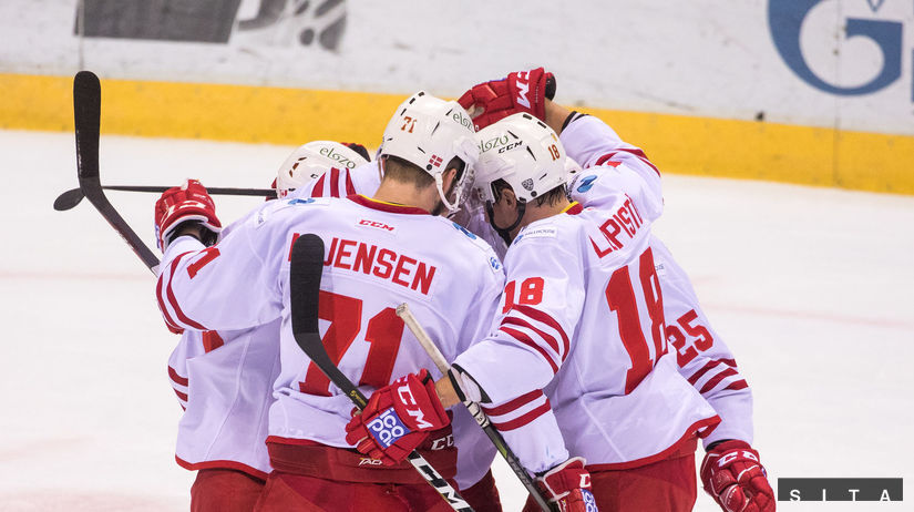 HOKEJ-KHL: Bratislava - Helsinki slovan
