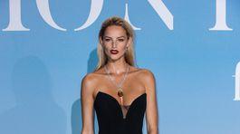 Slovenská topmodelka Michaela Kocianová na akcii Montecarlo Gala The Global Ocean.