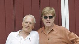 Herci Paul Newman (vľavo) a Robert Redford na zábere zo septembra 2005.