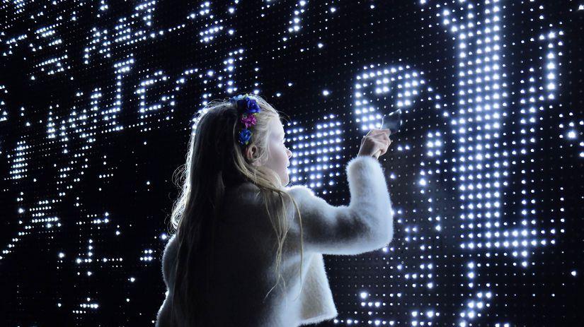 Počas Bielej noci poteší aj interaktívne dielo...