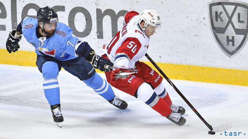 SR hokej KHL Slovan Jaroslavľ Grman