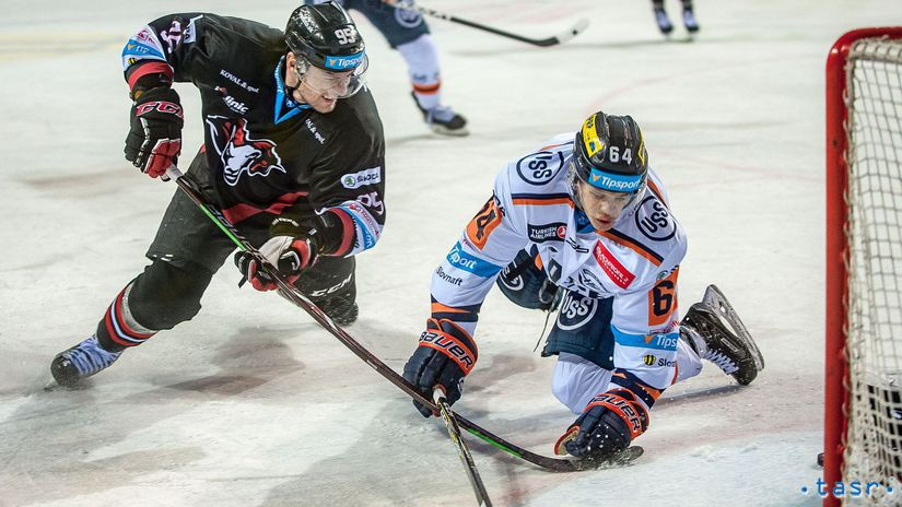SR Hokej TL 6.kolo Bystrica Košice BBX