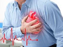 srdce, infarkt, muž