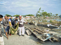 Indonézia Zemetrasenie Cunami
