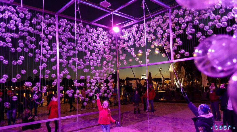 SR Biela noc festival umenie súčasné BAX