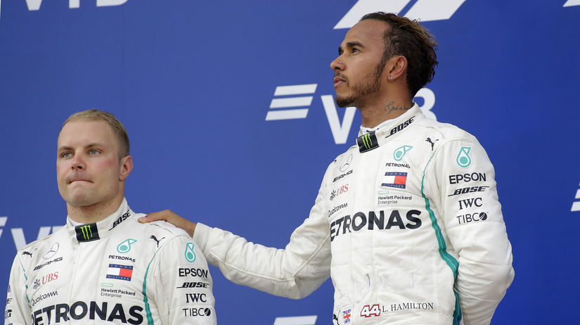 Valtteri Botas, Lewis Hamilton