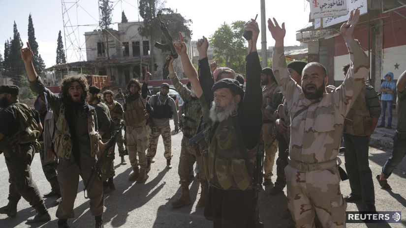 al-kájda, sýria, idlib, militanti, povstalci,...