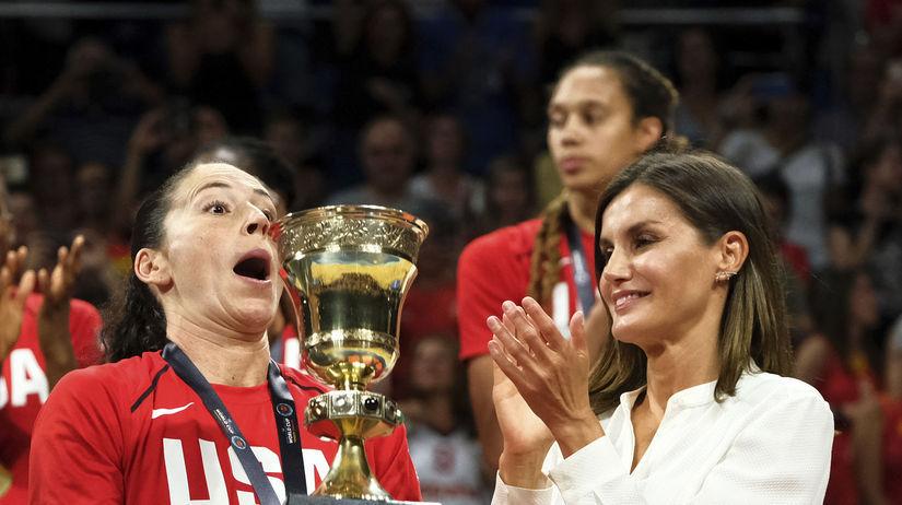 Španielsko Basketbal MS ženy finále USA titul
