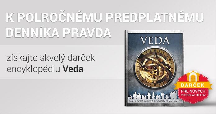 Polročné predplatné s encyklopédiou VEDA