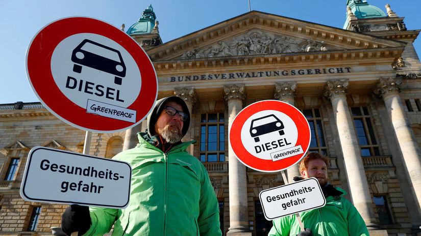 greenpeace, diesel, nemecko